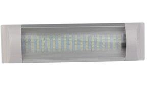 Image 2 - 16 W בהיר רכב פנים LED קריאת רצועת אור לבן תקרת כיפת אור 12 V 24 V ימי סירה קרוואנים קרוונים