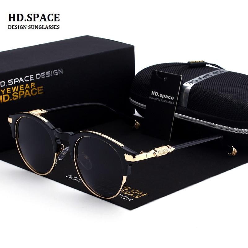 2018 النظارات الشمسية للرجال والنساء الاستقطاب RETRO SUNLASSES نظارة شمسية دائرية نظارة شمسية دائرية نظارة شمسية للنساء
