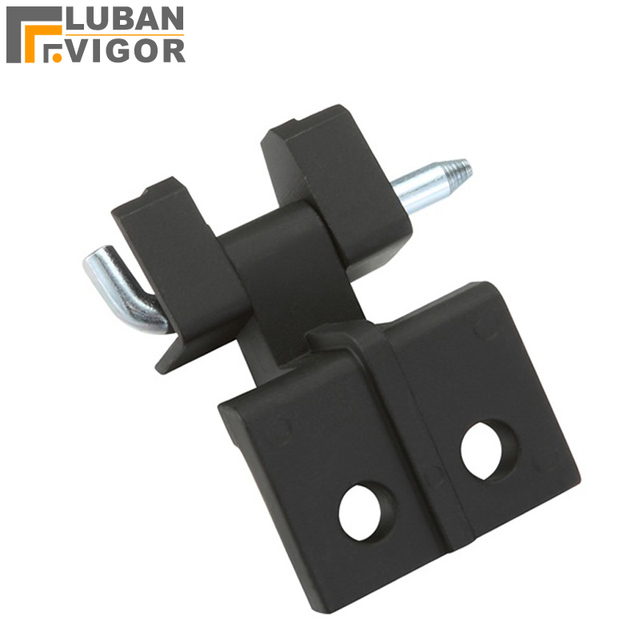 US $7 35 7% OFF|Factory outlet,Industrial Metal cabinet Card  hinges/latch,CL255,Matt black,openning 180 degree,industrial hinge-in Door  Hinges from