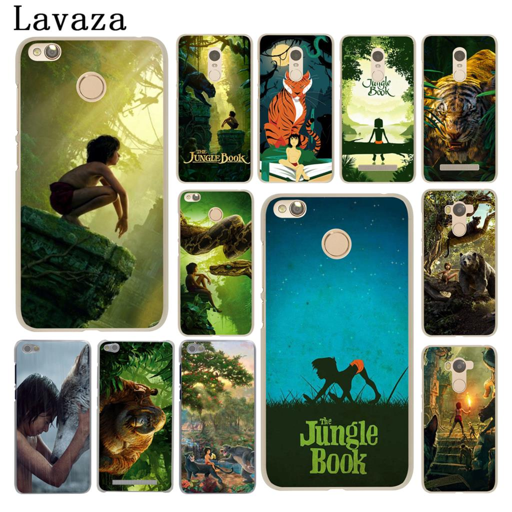 Lavaza The Jungle Book Hard Case for Xiaomi Redmi 4X Mi A1 6 5 5X 5S Plus Note 5A 4A 2 3 3S 4 4X Pro Prime Mi5X Mi6 Mi5s