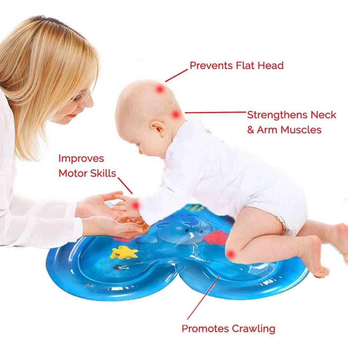 2019 Новая сенсорная стимуляция детский надувной водный игровой коврик для младенцев летнее пляжное водяное сиденье для малышей забавная подвижная игра игрушка