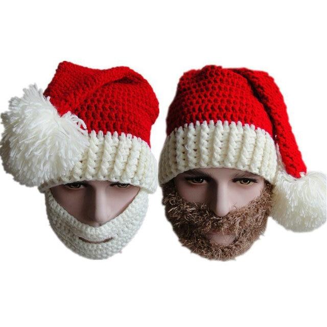 Winter Chunky Häkeln Weihnachten Hut Vogue Gestrickte Weihnachtsmann ...