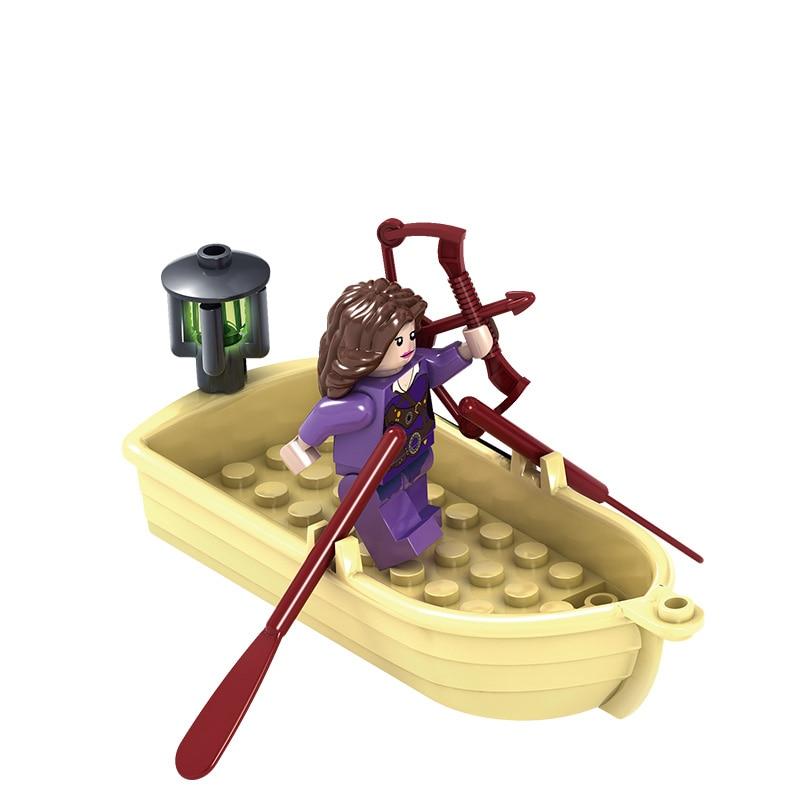 2017 New KAZI Chronicles of Narnia Building Block Toys Pirate Base Model Construction Bricks Educational Toys tales before narnia