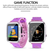 G10A IP67 Kids Safe Anti-Lost Monitor Watch Waterproof Children GPS M06 Swimming Smart Watch SOS Call Location Device Tracker(China)