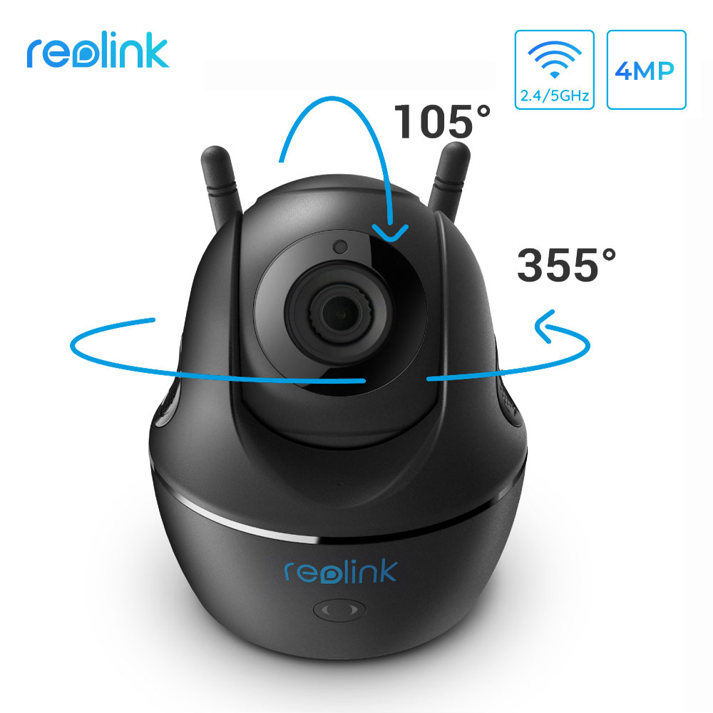 Reolink Baby Monitor 4MP C2 2 4G 5G WiFi Camera 3x Optcial Zoom Pan Tilt Full