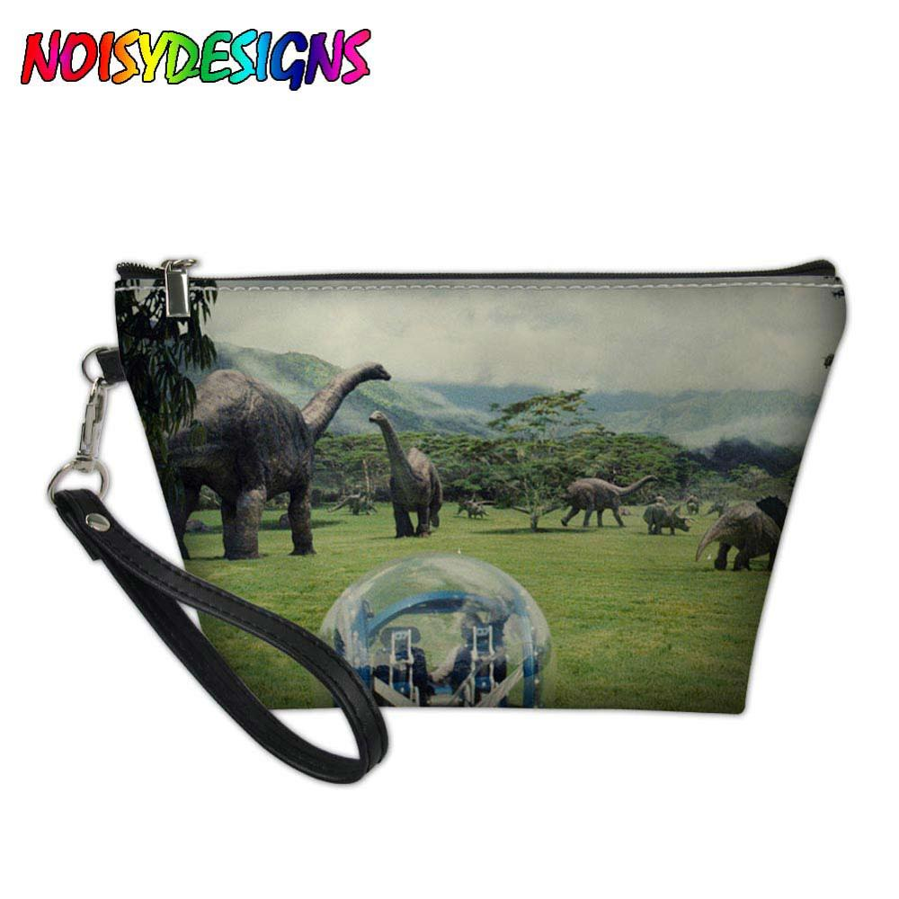 bb72dc167ef0 US $7.32 39% OFF|Jurassic World Dinosaurs Women Cosmetic Bags Case Ladies  Toiletry Bags Girls Organizer Necessary Pouch Travel 3D Makeup Case-in ...