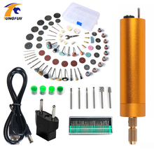 Tungfull Mini Electric drill Hand Drill Motor Hole Saw Aluminum DIY PCB with for Wood Plastic Drilling