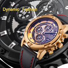 6.11 Mens Fashion Six Pin Stopwatch Multifunctional Outdoor Military Watch Waterproof Sport Watch Men Luminous Quartz Watch стоимость