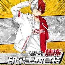 8e3946053d6bf New Anime My Hero Academia Boku no Hero Academia Cosplay Costumes Todoroki  Shoto Men Women Coat