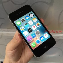 Usado 90% original novo apple iphone 4S 512mb 64gb telefones celulares 3.5