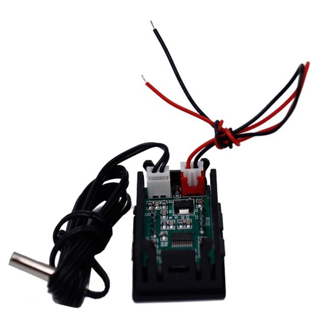 12V LCD Digital Thermometer Monitor Tester  5