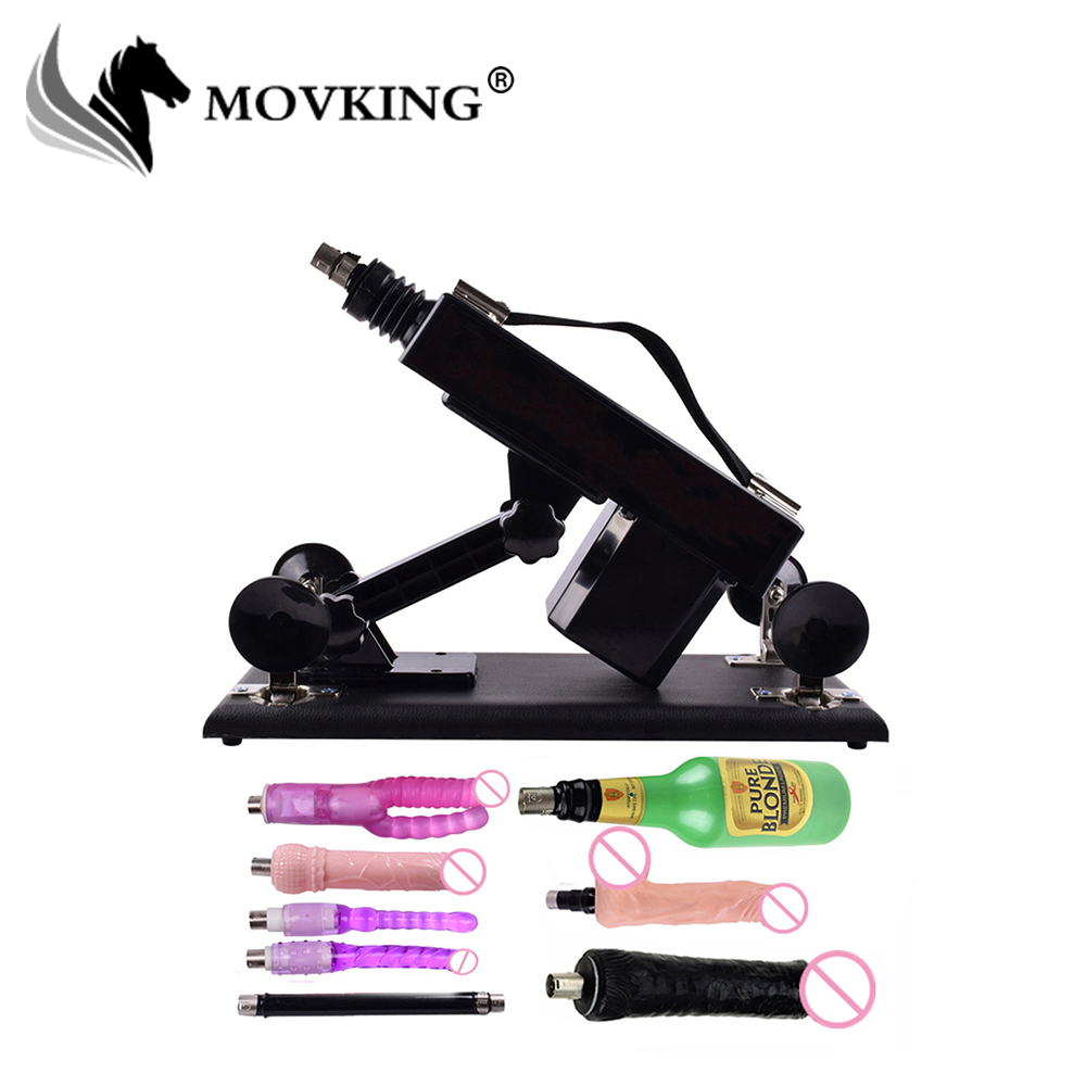 MOVKING Automatic Upgrade Sex Machine with 8 Attachments Big Dildo and Male Masturbator Cup Love Machine for Women and Men christian bernard why men want sex and womenlove what men and women want from sex andlove