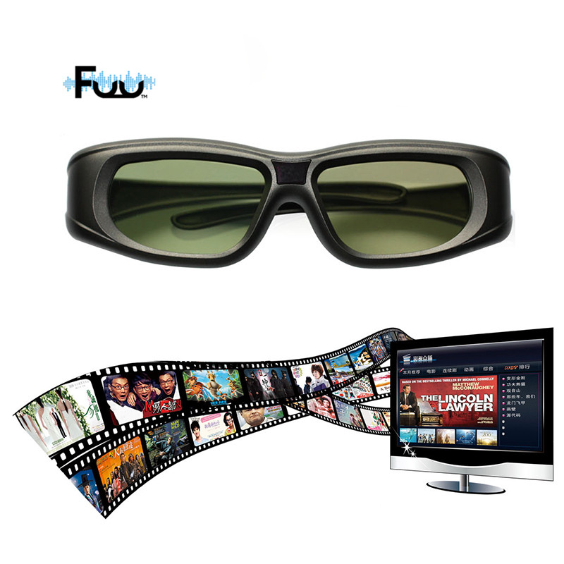 2016 Newest <font><b>Gonbes</b></font> N05-IR 3D <font><b>Active</b></font> <font><b>Shutter</b></font> <font><b>Glasses</b></font> For Optomal Sharp LG Acer BenQ <font><b>DLP</b></font>-<font><b>LINK</b></font> <font><b>DLP</b></font> <font><b>Link</b></font> Projectors Gafas 3d