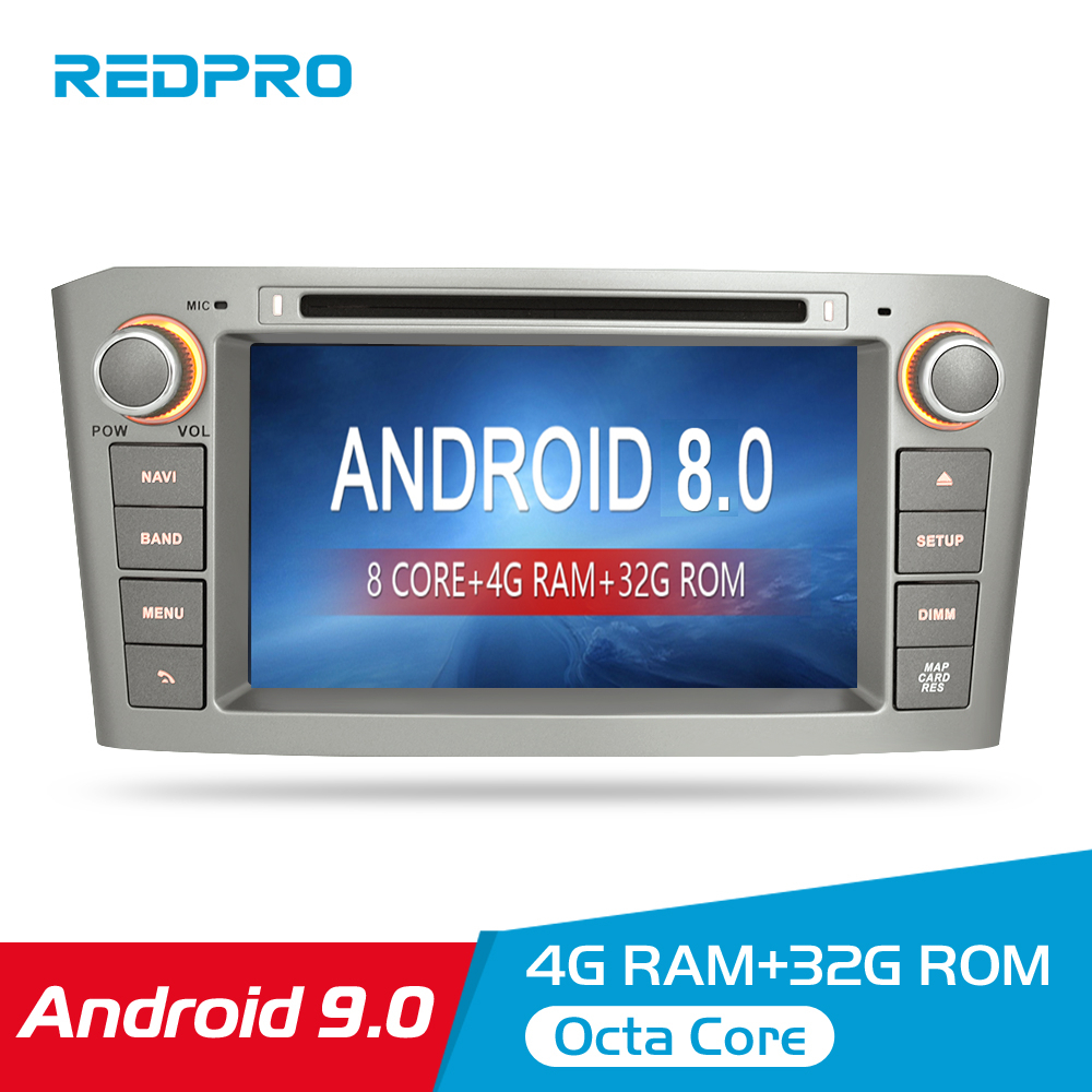 Image 1 - 7'' IPS 4G RAM Android 8.0 Car DVD GPS Navigation Player For Toyota Avensis/T25 2003 2008 WIFI FM Video Radio Stereo Multimedia-in Car Multimedia Player from Automobiles & Motorcycles