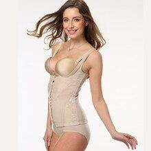 ERAEYE Womens Plus Size S-6xl Shaper Six Body The Abdomen Breast Steel Corset Slimming Body Sexy Lace Black Beige Waist Shaper