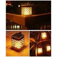 Waterproof Outdoor Landscape Decoration Garden Lawn Light Flickering Flame Solar Torch Light Garden Lamp
