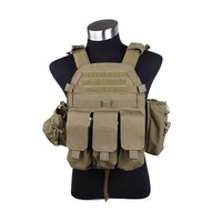 Tactical Molle Recon 6094 Plate Carrier with pouches Vest Combat gear vest