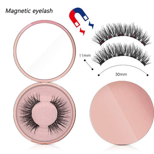 Magnetic Eyeliner 3D Eyelashes & Liquid Eyeliner with Lashes Eyelash