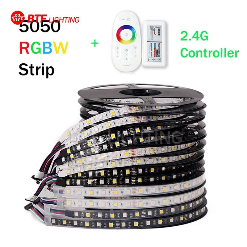 5M RGBW LED trak 5050 DC12V SMD 60Leds / M prilagodljiv bar svetlobe - LED osvetlitev