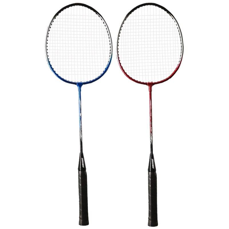 2 Player Badminton Racket Replacement Set Badminton Racquet Ultra Light Badminton Racket with Bag And Three Badminton Balls in Badminton Rackets from Sports Entertainment