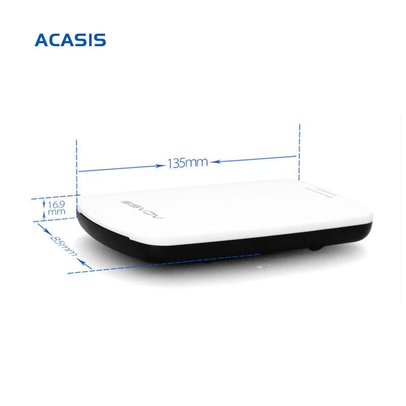 Gratis frakt Till salu ACASIS Original 250GB 2.5 '' USB2.0 HDD mobil - Extern lagring - Foto 5