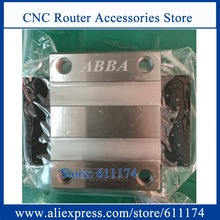Original Taiwan ABBA Linear bearings BRH15A, slider block BRC15A0, Flange slider blocks BRC15AO