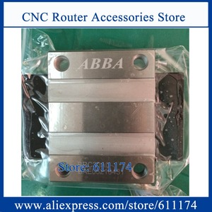 Image 1 - Original Taiwan ABBA Linear bearings BRH15A, slider block BRC15A0, Flange slider blocks BRC15AO