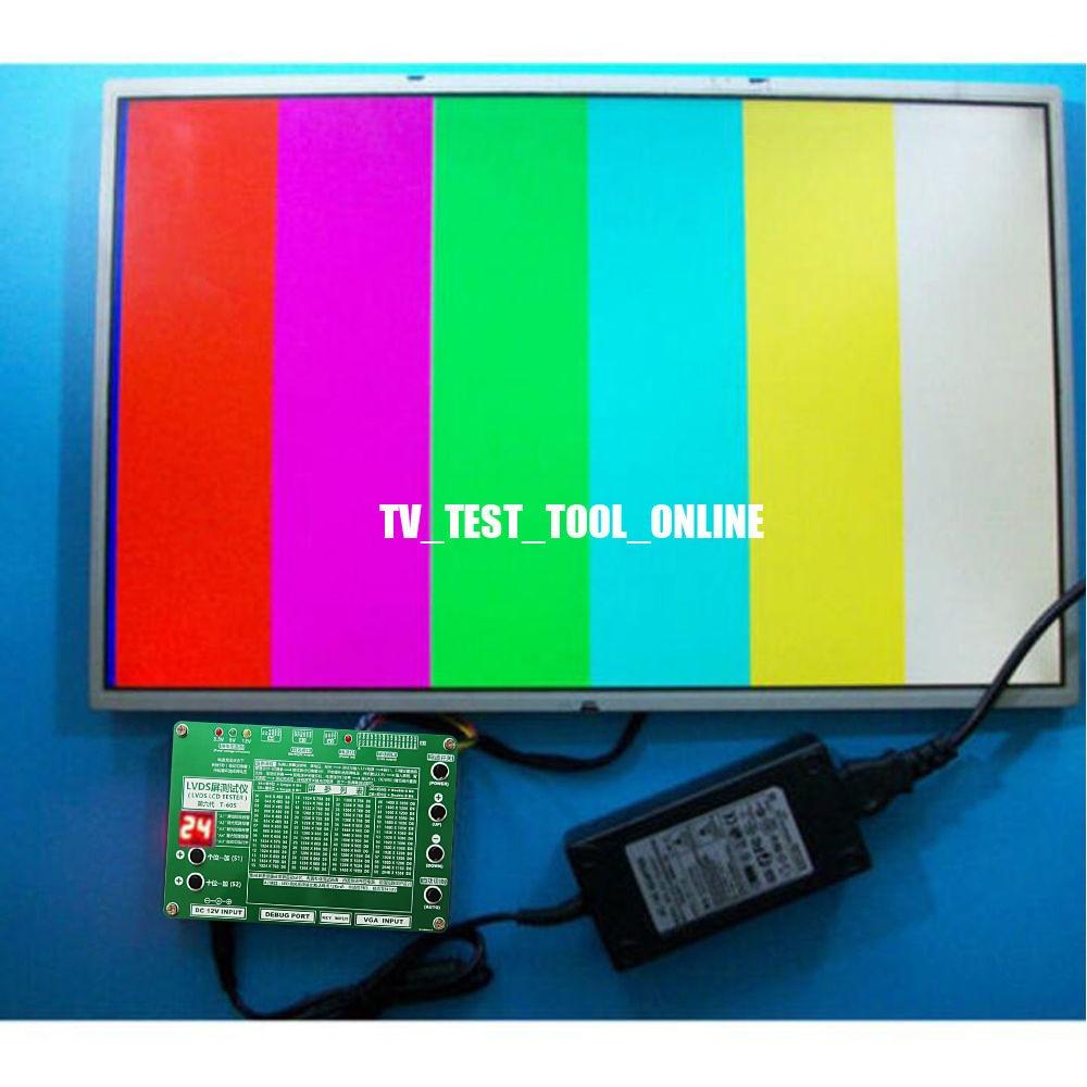 tela lcd testador para tv computador portátil