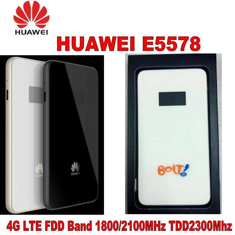 Genuine Unlocked Huawei E5578 CAT4 150Mbps 4G LTE FDD 1800/2100MHz TDD 2300MHz Wireless Router 3G WiFi Mobile Hotspot PK E5776 unlocked huawei e5578 cat4 150mbps 4g lte fdd 1800 2100mhz tdd 2300mhz wireless router 3g wifi mobile hotspot pk b593 e5776