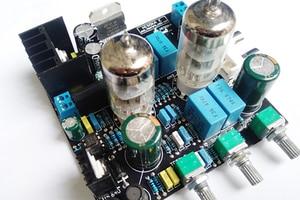 Image 5 - 6N3 כונן TDA7379 ואקום צינור מגבר סטריאו HiFi Amp Amplifie מראש מגבר 38W + 38W DC 12V