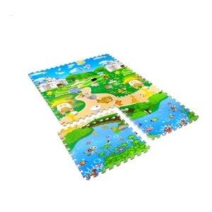 Play Mats Baby Toy Educational Cotton Play Mat Childrens Kids Exercise Floor Tiles Carpet boys girls Rugs Crawling Interlocking