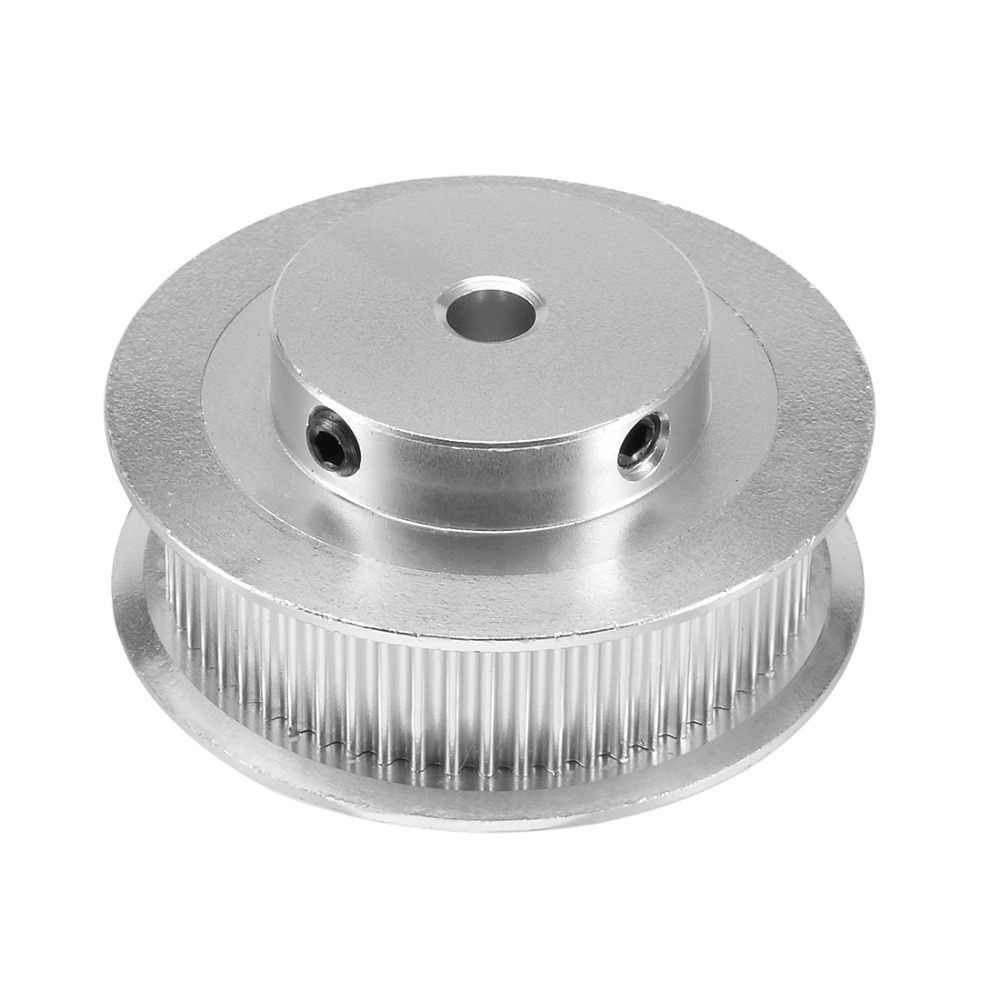 Aluminum GT2 60 Teeth 5mm Bore Timing Belt Pulley Flange Synchronous Wheel for 3D Printer Power Transmission