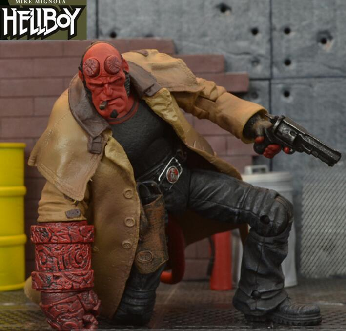 7″ Hellboy 18cm BJD Figure Model Toys for Children