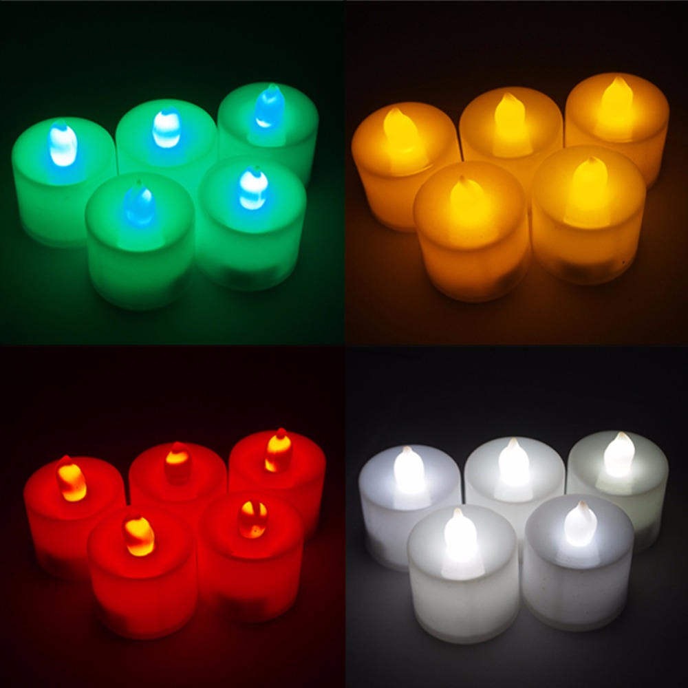 Cool Candle Led Candle Picture More Detailed Picture About 24 Pcs Electronic