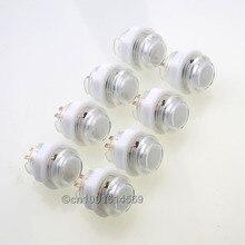 Wholesale prices 8 Pcs/lot 5V LED Illuminated Bulbs Arcade Button For Arcade LED Joystick Cables & Raspberry PI Retropie 1 2 3 3B Project – White