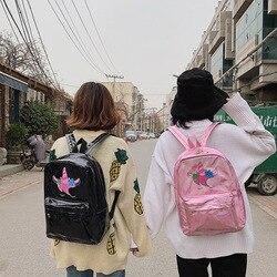 Mochila infantil lasera szkoła torby holograficzny torba plecak szkolny dla dziewczynek plecak szkolny torba dla dzieci plecaki dla dzieci 5