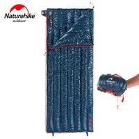 NatureHike сверхлегкий конверт спальный мешок гусиный пух ленивый мешок кемпинга спальные мешки 570 г NH17Y010 R
