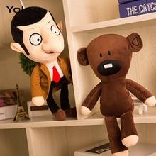 30cm Mr Bean Teddy Bear Plush Toys Movie Mr.Bean Cute Kawaii Stfuffed Toys for Children Birthday Present Gifts