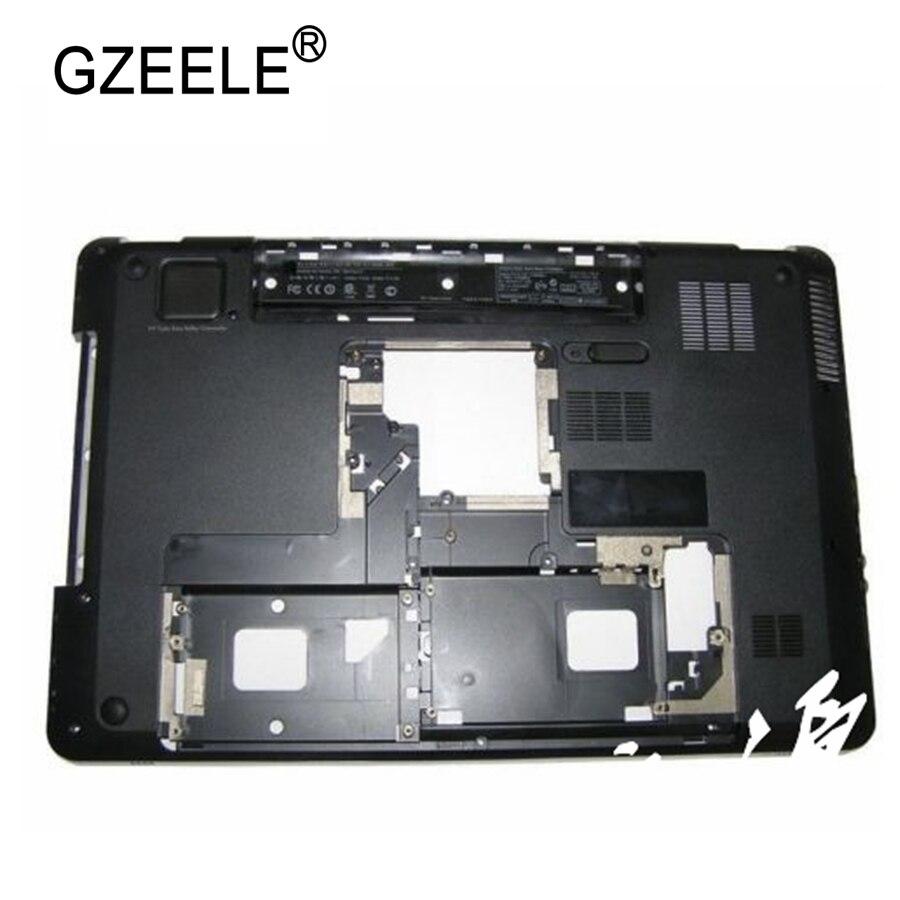 GZEELE refurbished For HP for Pavilion DV7 DV7-4000 Series Bottom Base Case Cover ZYE3ELX9TP103 low case gzeele new laptop bottom base cover bottom case for asus g752 g752v lower cover bottom case pn 13n1 08a0101 13nb0d71ap0101 grey
