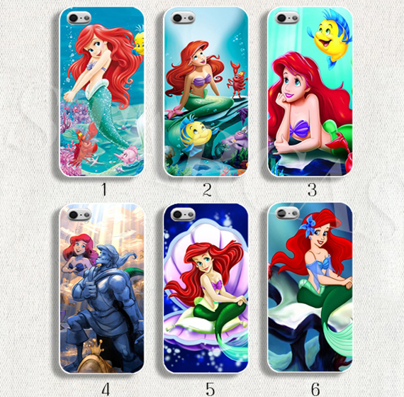low priced 0251d a7ea8 US $9.91 |Little mermaid phone case Cover little mermaid for iPhone 6 6  plus on Aliexpress.com | Alibaba Group