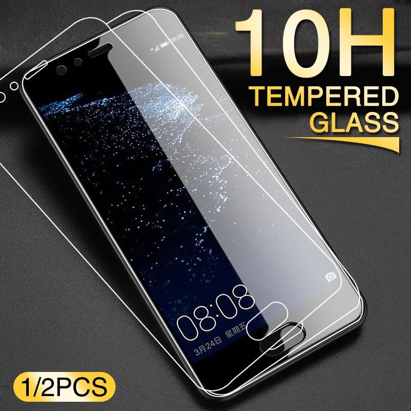 2 pçs vidro temperado para huawei p10 p20 p30 mate 20 plus lite protetor de tela para hauwei companheiro 10 20 p20 pro vidro protetor de proteção