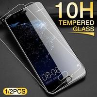 2 uds vidrio templado para Huawei P10 P20 P30 Mate 20 Plus Lite Protector de pantalla para Hauwei Mate 10 20 P20 PRO vidrio Protector