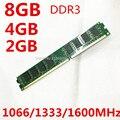 Новый опечатаны DDR3 1066 МГц/1333 МГц/1600 МГЦ 8 ГБ/4 ГБ/2 ГБ/1 ГБ Столе Рамн высокое качество Бесплатная доставка!