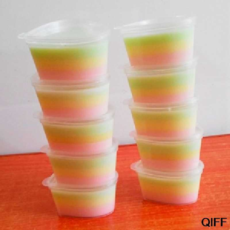 Wholesale 45ml Storage Container Organizer Box With Lid For Slime Mud Light Clay May06