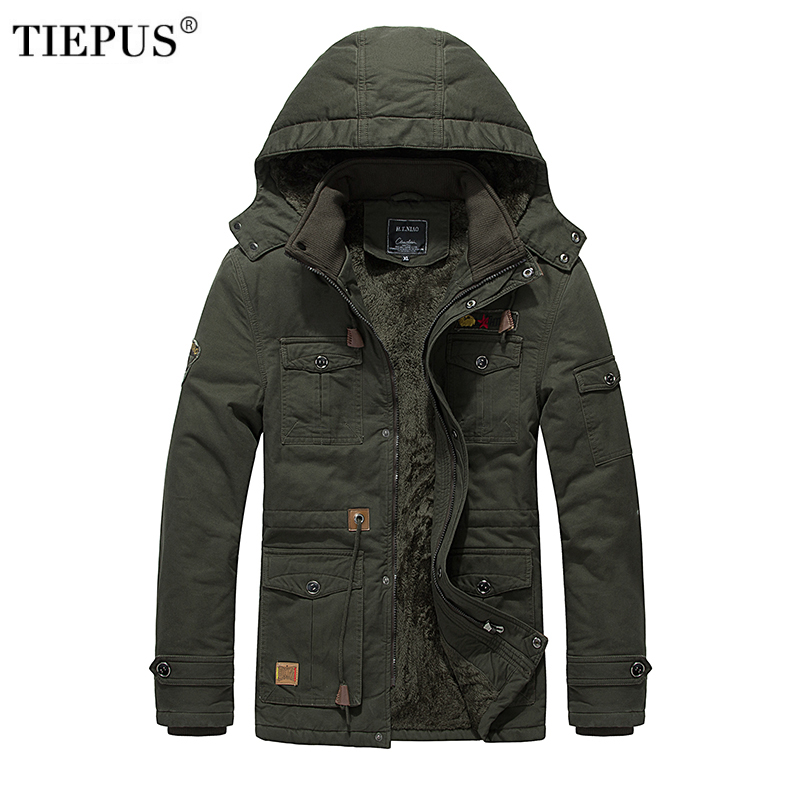 Men s Trench Coat Classic Trench Windproof Clothes Thick Warm Long Jackets British Style Overcoat Male