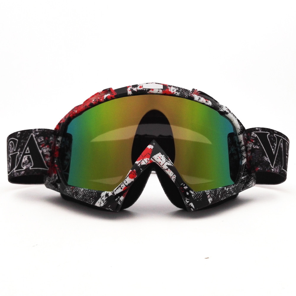 P932C Motocross Goggles Cross Country Skis Snowboard ATV Mask Oculos Gafas Motocross Motorcycle Helmet MX Goggles Spectacles