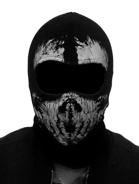 (Fast shipping) NEWest Balaclava Hood Full Face Masks For Ghosts Skull Bike Skiing Hood Ski Mask 2
