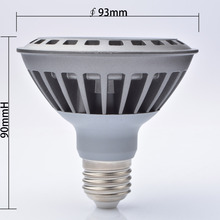free shipping par led par30 7W par 30 led lamp bulb led spotlight bulb par led rgbw lamparas de techo