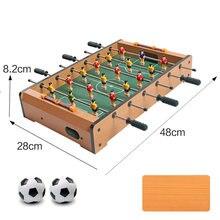 Горячая Распродажа мини настольный футбол Семейная Игра Набор