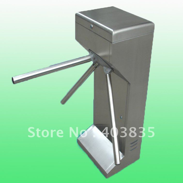 304 Grade stainless steel semi-automatic tripod turnstile 304 stainless steel semi automatic tripod turnstile